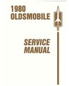 1980 OLDSMOBILE Full Line (No Omega) Chassis & Electrical Service Manual