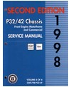 1998 CHEVROLET P SERIES TRUCK Chassis & Electrical Service Manual