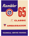 1965 AMC AMBASSADOR & CLASSIC Body, Chassis & Electrical Service Manual