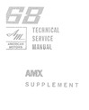 1968 AMC AMX Body, Chassis & Electrical Service Manual Supplement