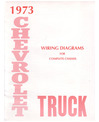 1973 CHEVROLET & GMC PICKUP TRUCK Wiring Diagrams