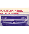 1967 AMC REBEL Owners Manual