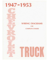 1947-53 CHEVROLET TRUCK Wiring Diagrams
