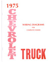 1975 CHEVROLET TRUCK Wiring Diagrams