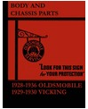 1928-36 OLDSMOBILE Body & Chassis, Text & Illustration Parts Book