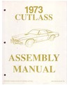 1973 OLDSMOBILE CUTLASS Assembly Manual
