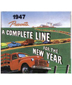 1947 CHEVROLET TRUCK Full Line Sales Folder