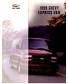 1999 CHEVROLET EXPRESS VAN Sales Brochure