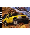 2003 CHEVROLET BLAZER Sales Brochure