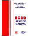 1994 CHEVROLET KODIAK & TOPKICK Body, Chassis & Electrical Service Manual