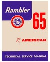 1965 AMC AMERICAN Body, Chassis & Electrical Service Manual