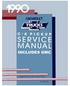 1990 CHEVROLET & GMC C/K 10-30 LIGHT DUTY TRUCK Body, Chassis & Electrical Service Manual