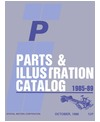1985-89 CHEVROLET 'P' CHASSIS Body & Chassis, Text & Illustration Parts Book