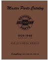 1929-48 CHEVROLET CAR & TRUCK Body & Chassis, Text & Illustration Parts Book