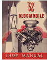 1952 OLDSMOBILE Full Line Body, Chassis & Electrical Service Manual