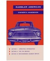 1961 AMC AMERICAN Owners Manual