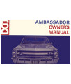 1968 AMC AMBASSADOR Owners Manual