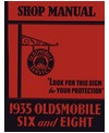 1935 OLDSMOBILE SIX & EIGHT Body, Chassis & Electrical Service Manual